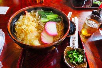 Hikumaji Soba Restaurant.