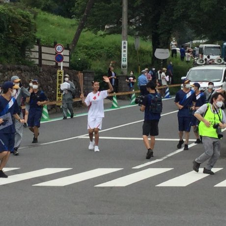 The Koma Segment of the Olympic Torch Relay