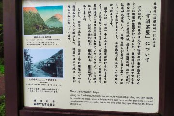Historic sign about theTea House
