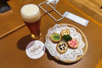 Onuma Brewery IPA and Pastries