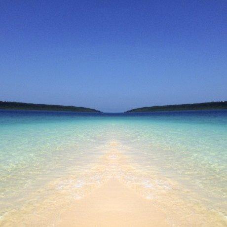 宫古岛的阳光沙滩