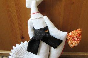 Kitsune cloth doll by Elena Lisina