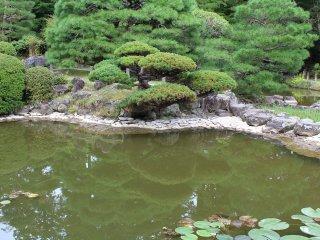 This corner is a reminder of Matsushima