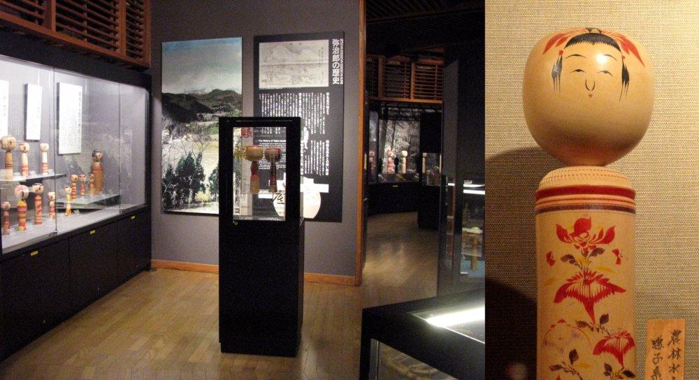 Kokeshi Museum in Shiroishi Yajiro Kokeshi Mura