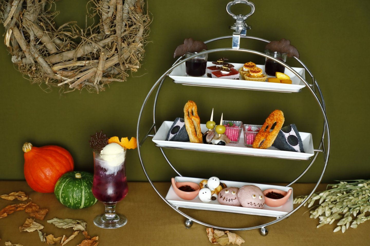 The themed afternoon tea event takes place throughout the month of October