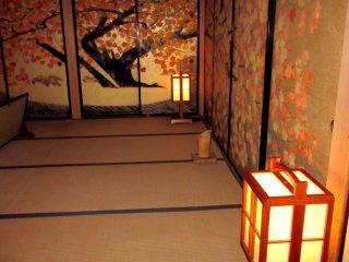 Traditional tatami flooring