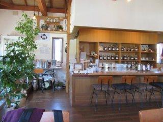 Kamidana in a cafe