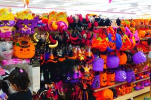 Halloween goods at Daiso September 1st