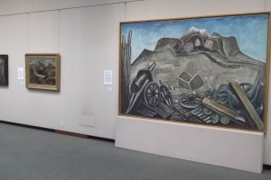 Paintings from the permanent collection