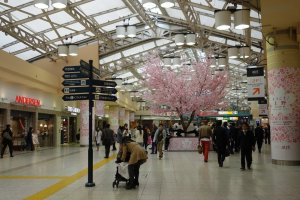 Atré Ueno's location provides the ultimate convenient shopping experience