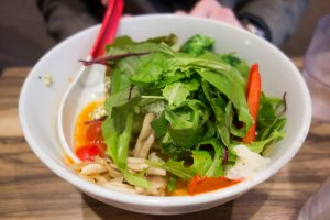 Soranoiro offers several different vegan-friendly ramen options