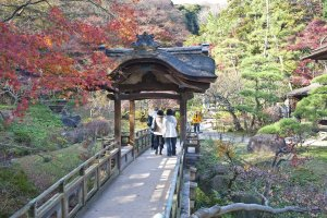 Sankeien Garden is well worth the ¥ 700 admission fee