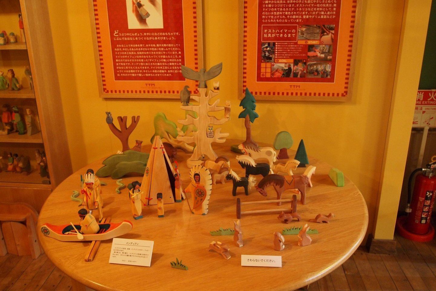 Wooden toys galore