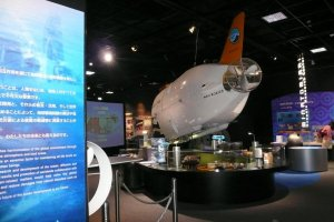 The museum is filled with great science exhibits and lots of hands-on activities.