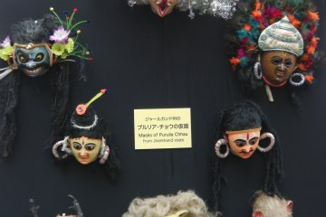 A collection of beautiful Indian masks