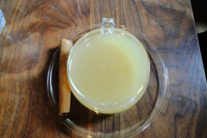 To-die-for hot ginger drink