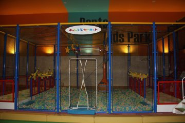<p>Many of the climbing, jumping and ball pits for young children are on the fifth and sixth floors</p>