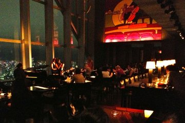 """Live jazz music at New York Bar as featured in Sofia Coppola's 2003 movie drama """"Lost in Translation"""""""