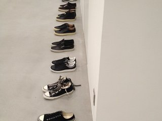 Collection of shoes by Comme des Garçons