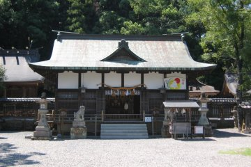 Tokei-jinja Shrine in Tanabe