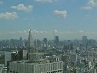 วิวของโตเกียว เมโทรโพลิทัน