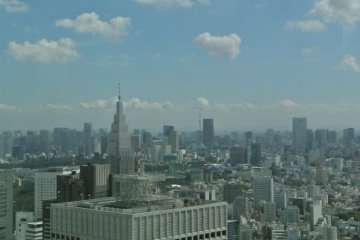 Sweeping Views of Tokyo City Hall