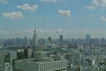 新宿都庁ビルの展望階