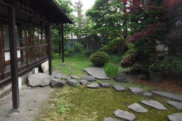<p>A view of the garden</p>