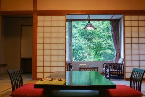 The Japanese traditional style room