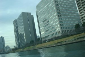View from the Sumida River