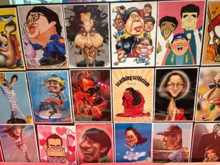 Check out some of the amazing talent at Caricature Japan