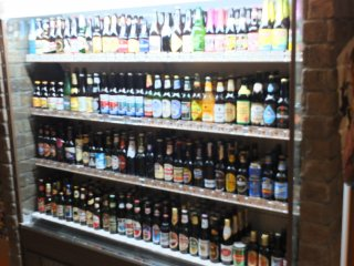 Over 200 beers from 50 countries