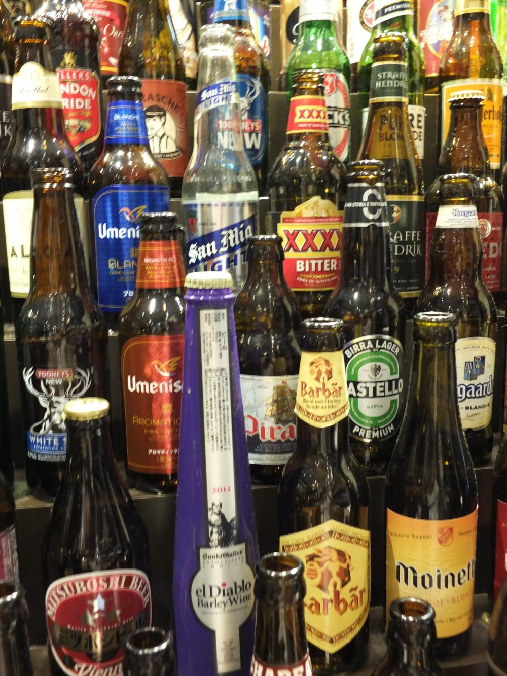 How many of these beers have you tried?