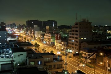 """Rooftop views"" of Kamata before bedtime"