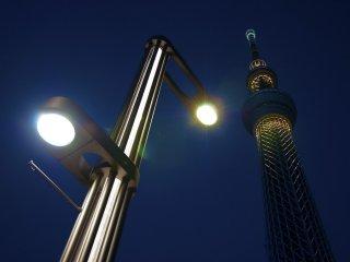 Tokyo Skytree view from Sumida Aquarium