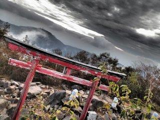 Gate at the peak