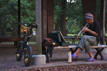 The Musicians at Yoyogi Park
