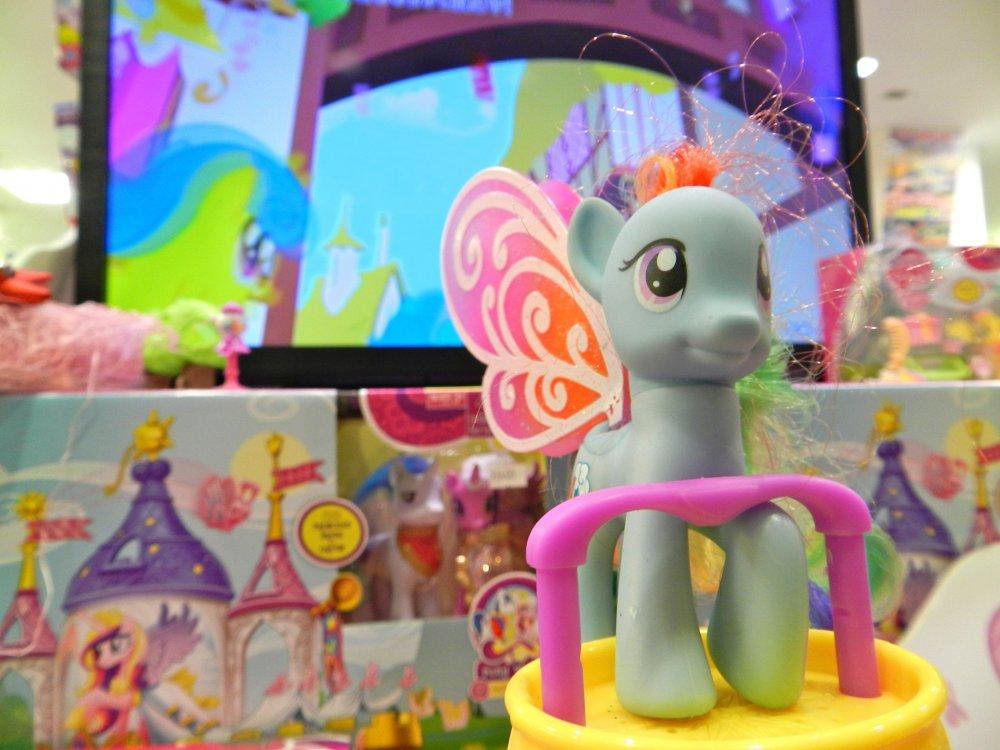 Chú ngựa Pony bé nhỏ