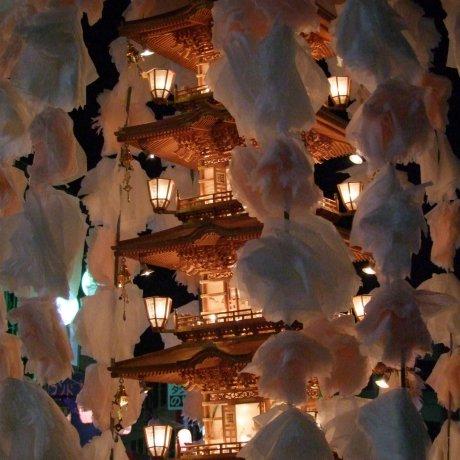 เทศกาลโอเอชิกิ ณ อิเคะงามิ ฮอนมอนจิ