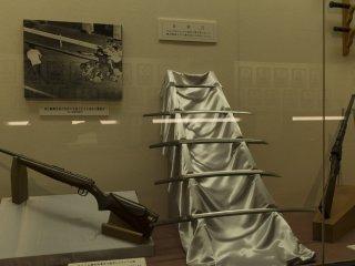 Katanas are something I find fascinating at the Metropolitan Police Museum at Kyobashi