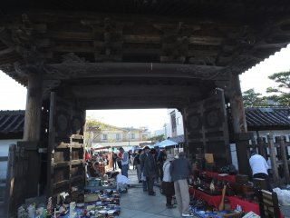 Selling under the gate