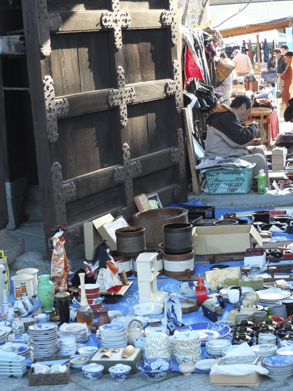 The bazaar's best location