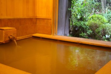 Baths with Ikaho's golden hot spring waters