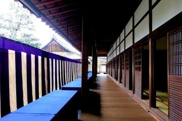 Hallway surrounding Hojo Hall
