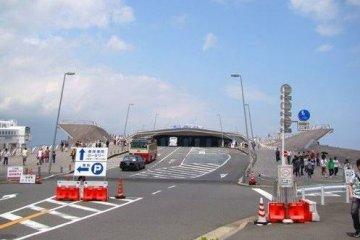 大さん桥埠头,眺望横滨的好去处