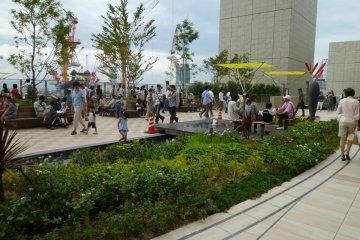 大阪ステーションシティの隠れ庭園