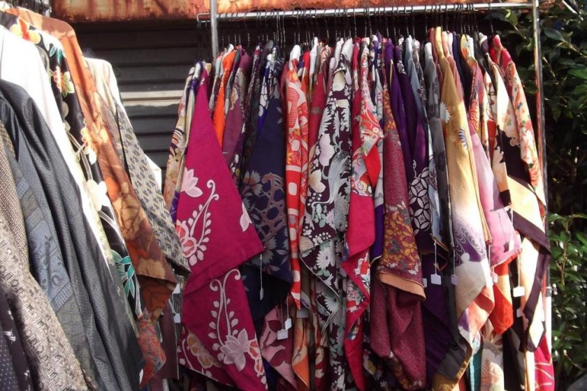 Second hand kimono and yukata at very reasonable prices