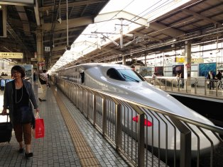 Tokyo to Kyoto by Shinkansen Train