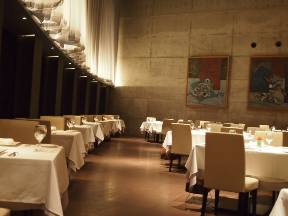 The classy interior of OTTO SETTE, perfect for a romantic night out.