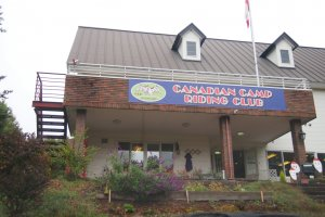 I arrived at Canadian Camp Riding Club in the morning. I did the necessary administration procedures before I got introduced to my horse.